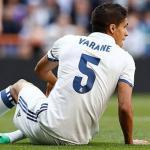 Varane tras una lesión con el Real Madrid / Real Madrid