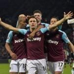 Jugadores del West Ham celebran un gol / Premier League