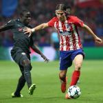 Kanté y Filipe (Atlético de Madrid)