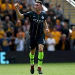 Laporte, ante el Wolves (Manchester City)