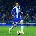 Wu Lei, jugador del Espanyol. Foto: LaLiga.es