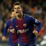 Coutinho celebrando un gol con el Barça (FC Barcelona)