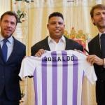 Ronaldo tras adquirir el Valladolid / YouTube