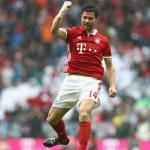 Xabi Alonso con la camiseta del Bayern de Múnich. Foto: Youtube.com