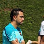 Xavi puede sustiruir a Valverde en cualquier momento.