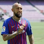 Arturo Vidal no planea moverse del FC Barcelona / fcbarcelona.es