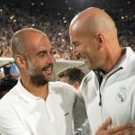Zidane y Guardiola intercambian elogios