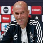 Zinedine Zidane durante una rueda de prensa / Real Madrid