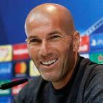 Zinedine Zidane, ante los medios de comunicación / Real Madrid.